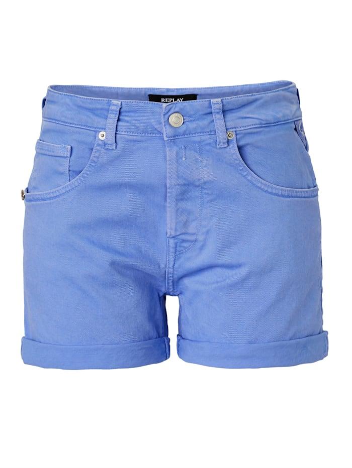 REPLAY Shorts, Royalblau