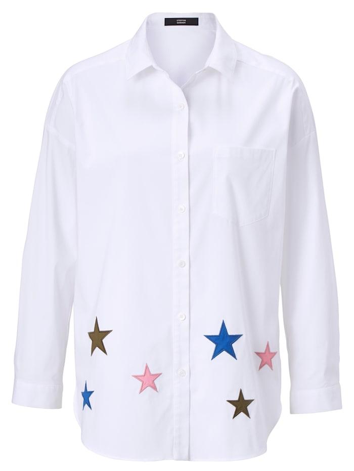 STEFFEN SCHRAUT Bluse, Weiß