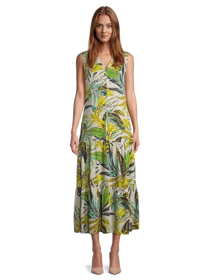Betty Barclay Sommerkleid ohne Arm, Grün
