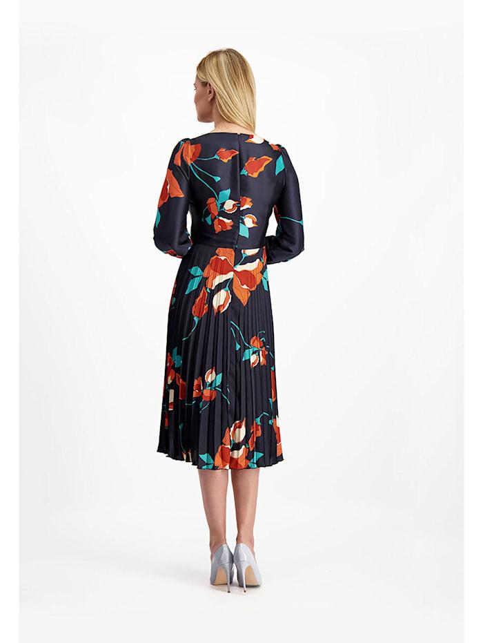 Kleid aus glänzendem, zartem Stoff