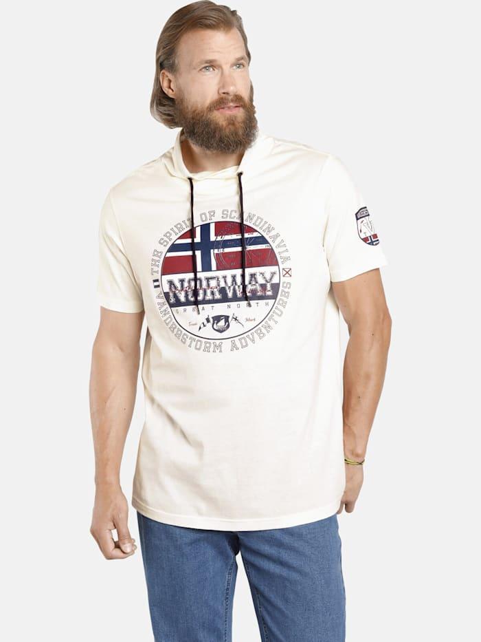 Jan Vanderstorm Jan Vanderstorm T-Shirt ESKIL, beige