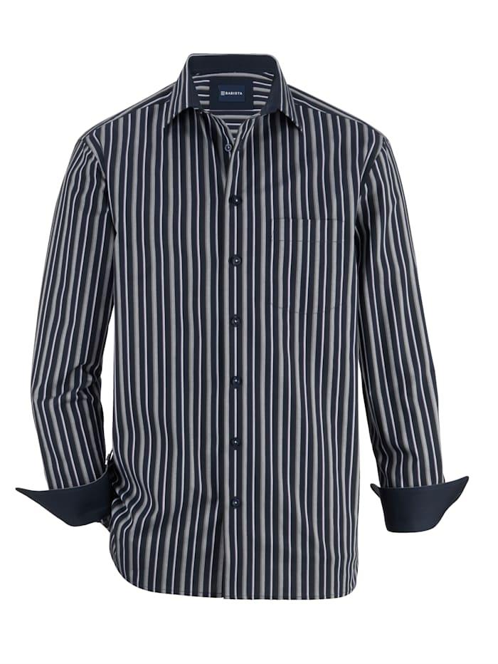 BABISTA Hemd in verschiedenen Dessins, Marineblau/Grau