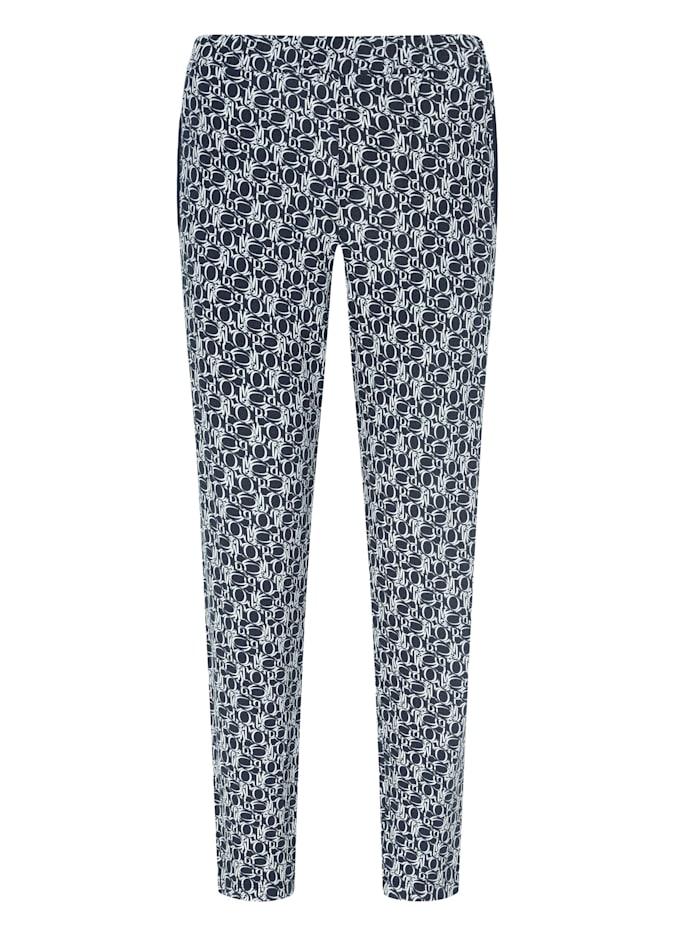 JOOP! Hose aus der Serie Soft Elegance, Nachtblau