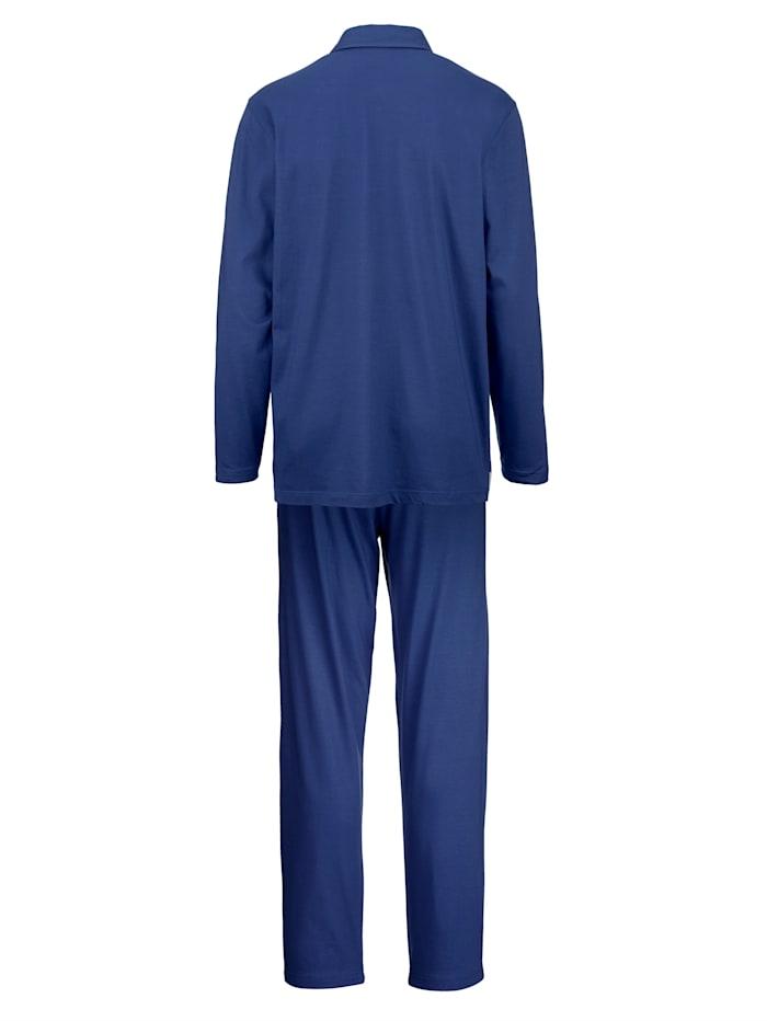 Pyjama met ingebreid streepdessin