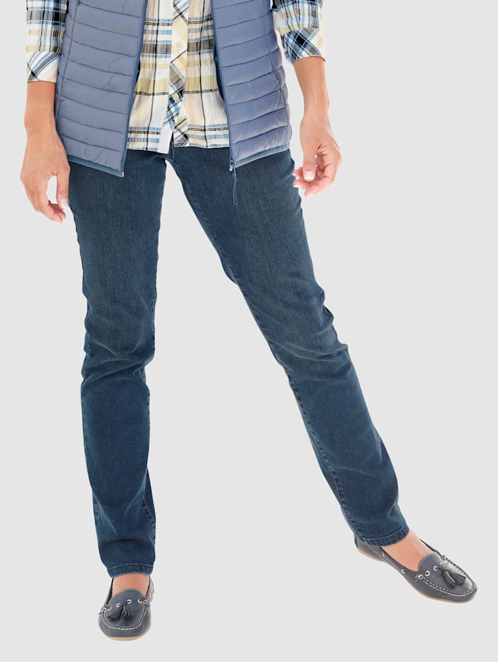 Paola Jeans met siersteentjes, Blue stone