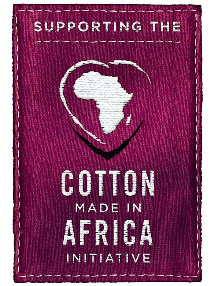 Pyjama uit de 'Cotton made in Africa'-collectie
