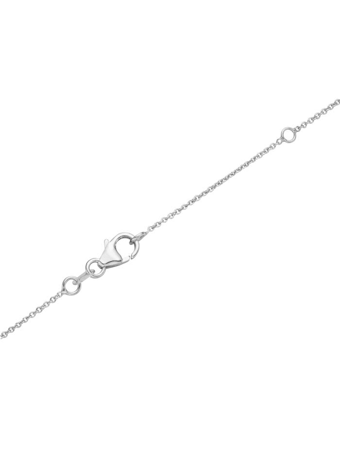 Collier Buchstabe W, Silber 925