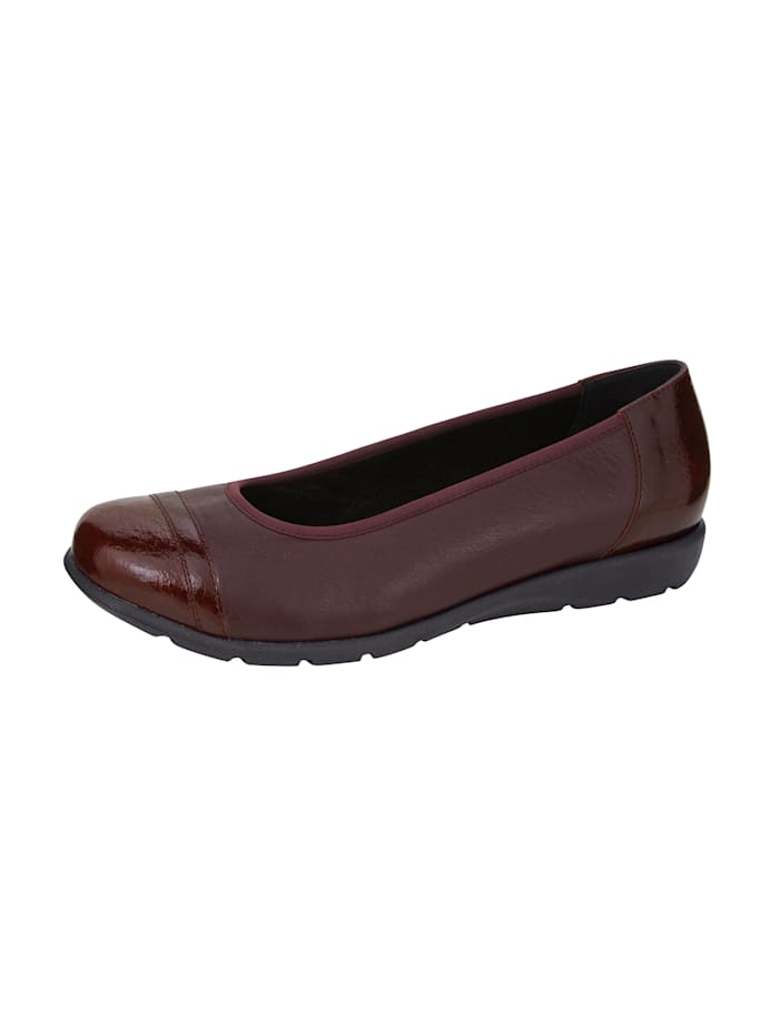 Ballet pumps made from premium leather