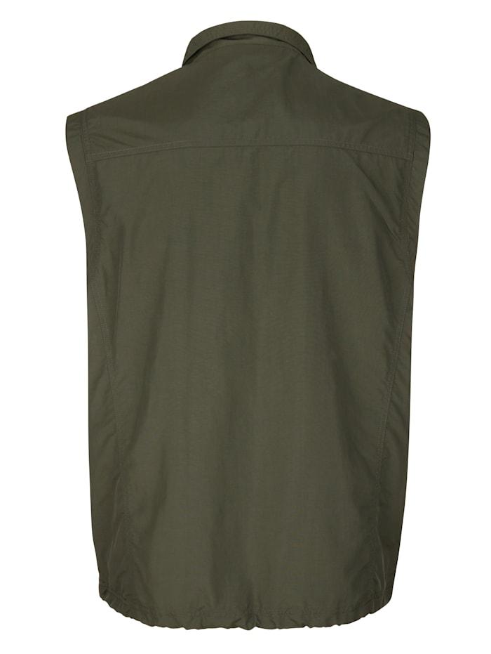 Outdoorbodywarmer met praktische zakken