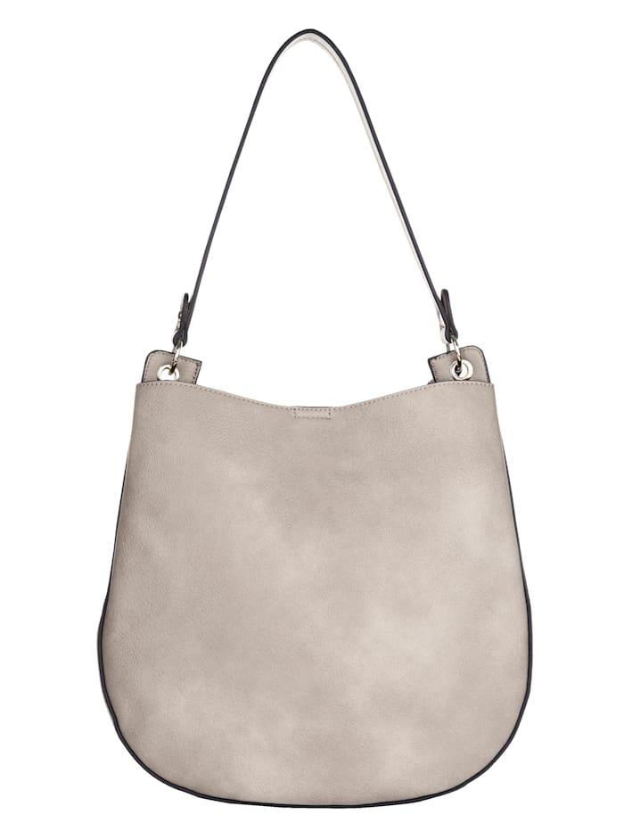 Shopper 2-delig met afneembare hanger met hartje 2-delig