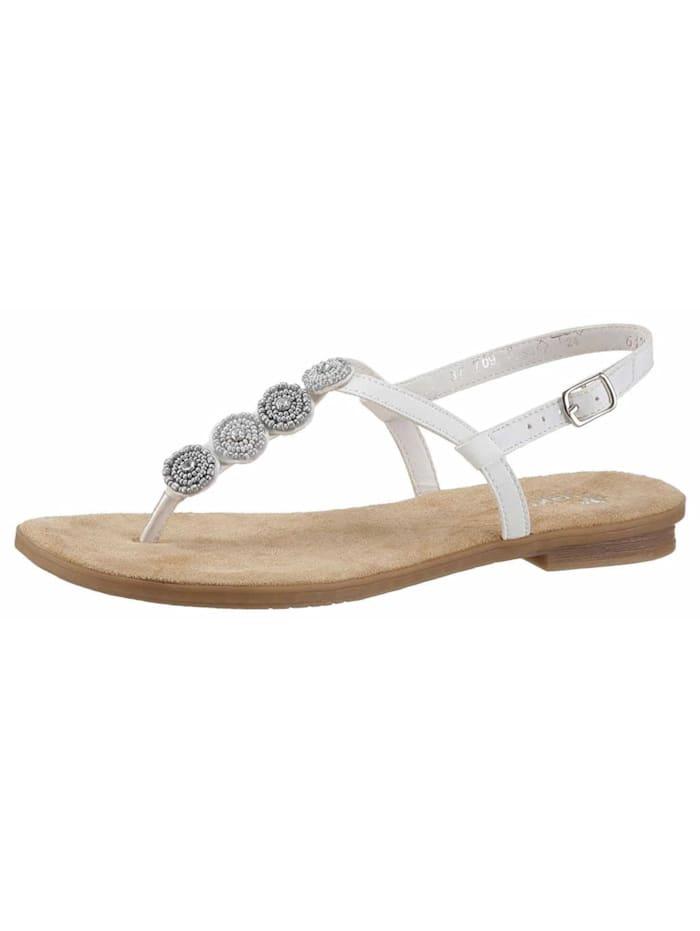 Rieker Sandale, weiß