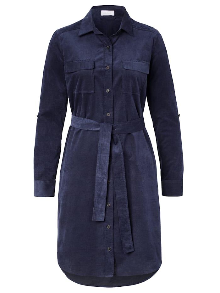 van Laack Kleid, Blau