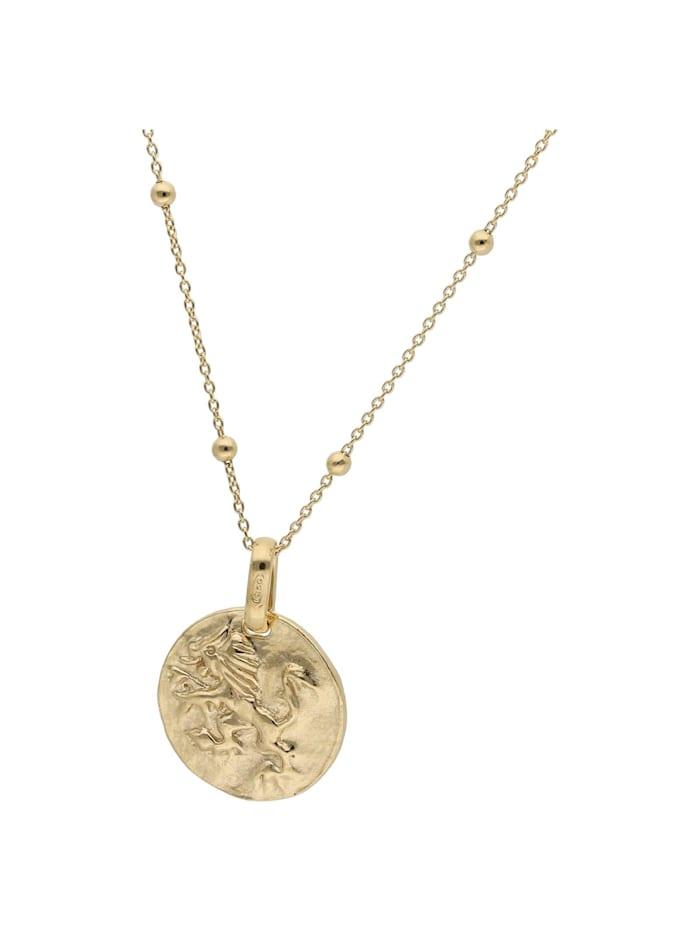 Smart Jewel Kette Münz - Design, Silber 925, Gold