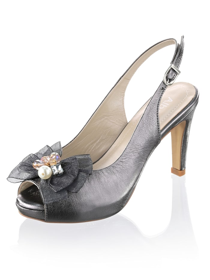 Sandaaltje in peeptoe model