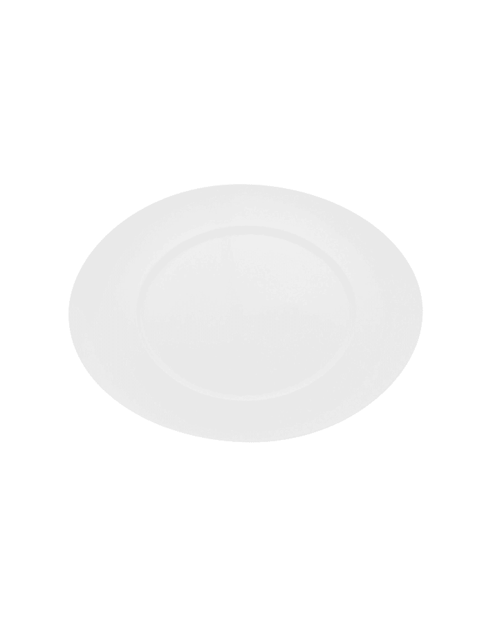Eschenbach Teller, oval Fahne Universo, Weiß