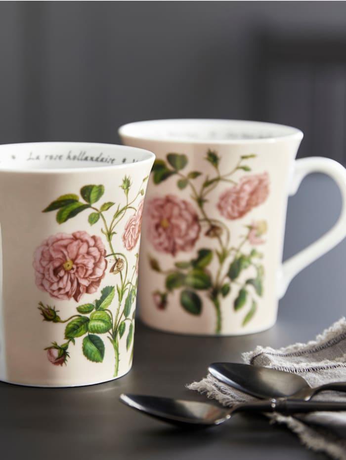 "Könitz Lot de 2 mugs ""Les Fleurs Merian"", Multicolore"