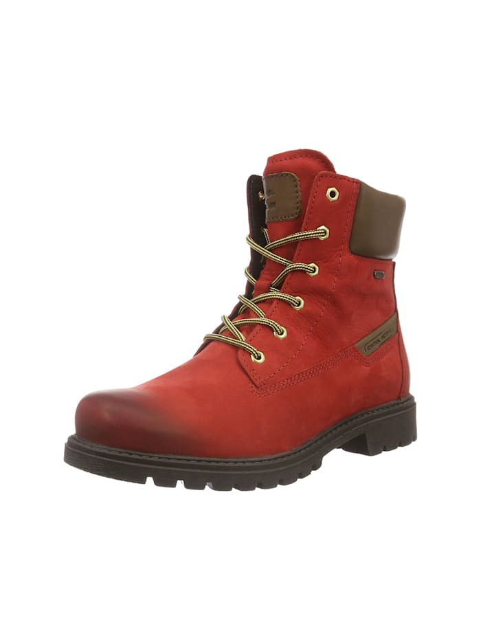 camel active Stiefelette, mittel-rot