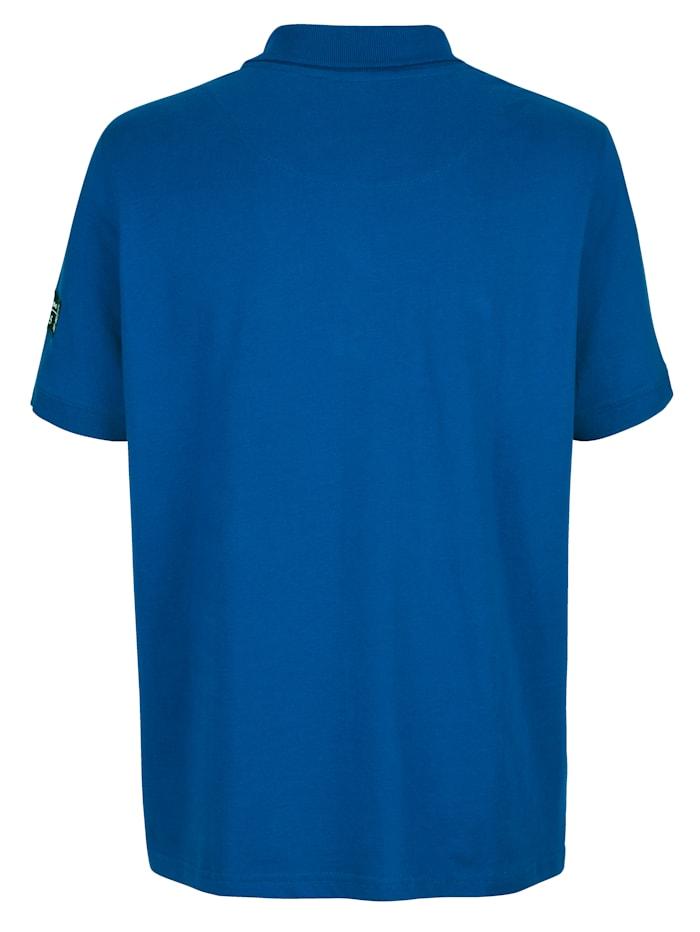 Tričko s potlačou a výšivkou