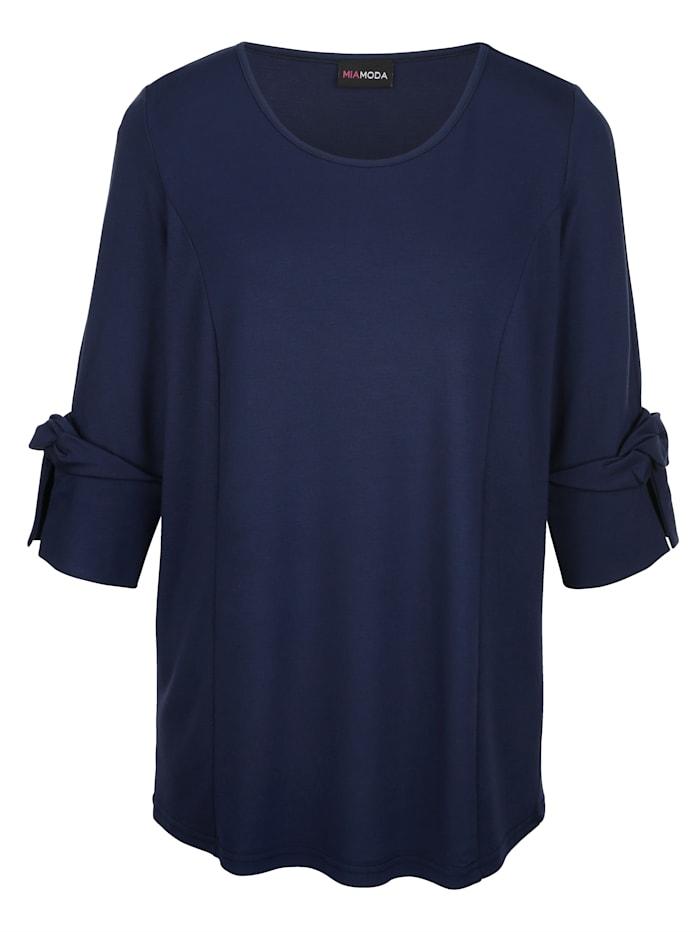 Shirt mit Knotendetails an den Ärmeln