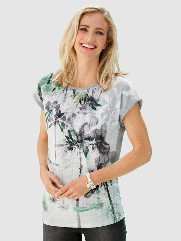 Dress In Painokuvioitu paita, Vaaleanharmaa