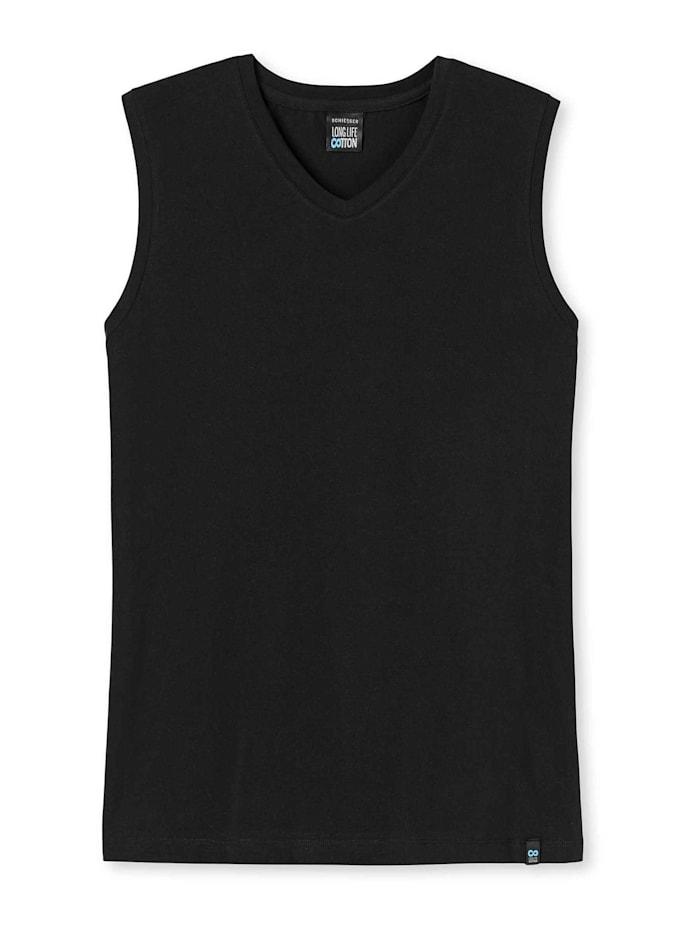 Schiesser City-Shirt, schwarz