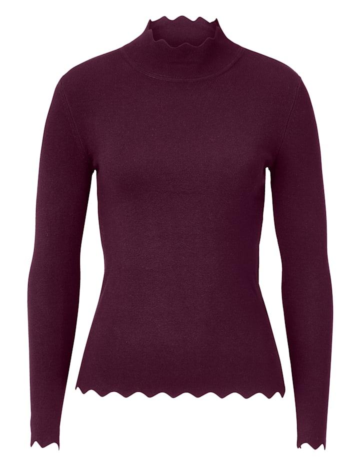 STEFFEN SCHRAUT Pullover, Brombeere
