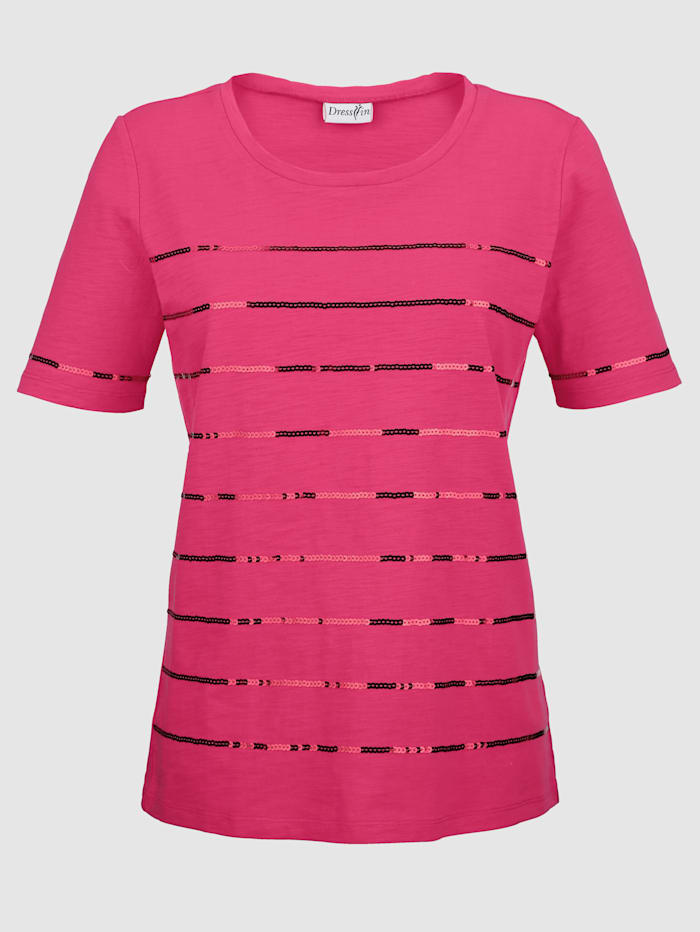 Dress In Paljettisomisteinen paita, Pinkki
