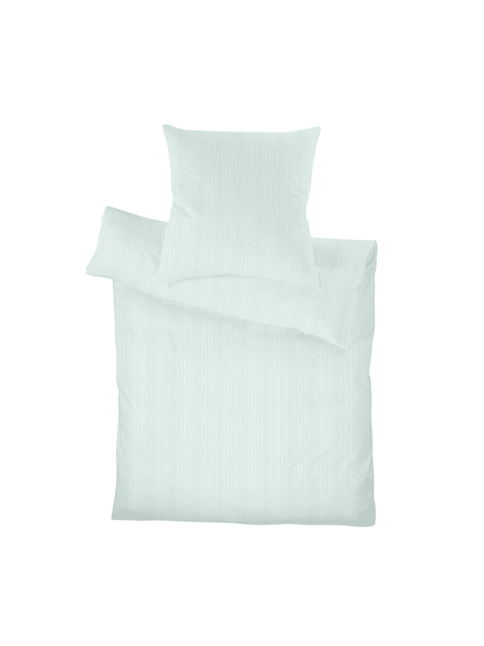 Schlafgut Uni Mako-Satin Bettwäsche Select mint, mint