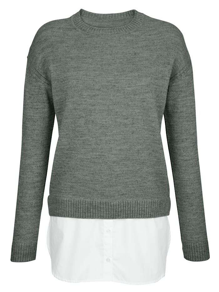 Jumper in a 2-in-1 design
