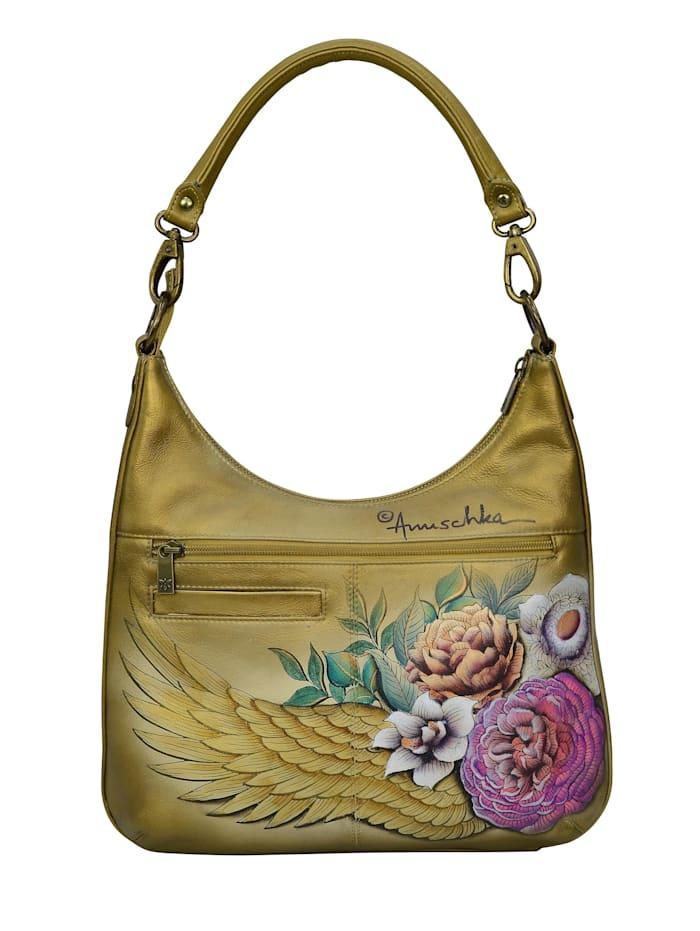 Hobo Angels Wings aus handbemaltem Leder