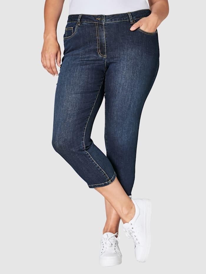 Janet & Joyce 7/8-jeans, Blauw