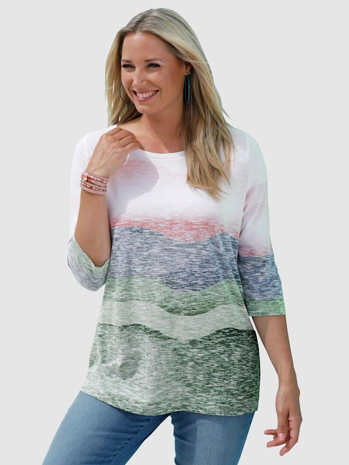 Shirt mit harmonischem Farbverlauf