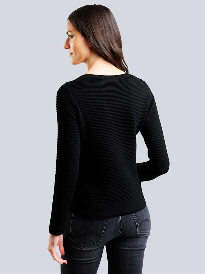 Pullover mit Nieten in Sternenform