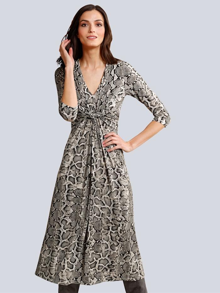 Kleid im Schlangenprint