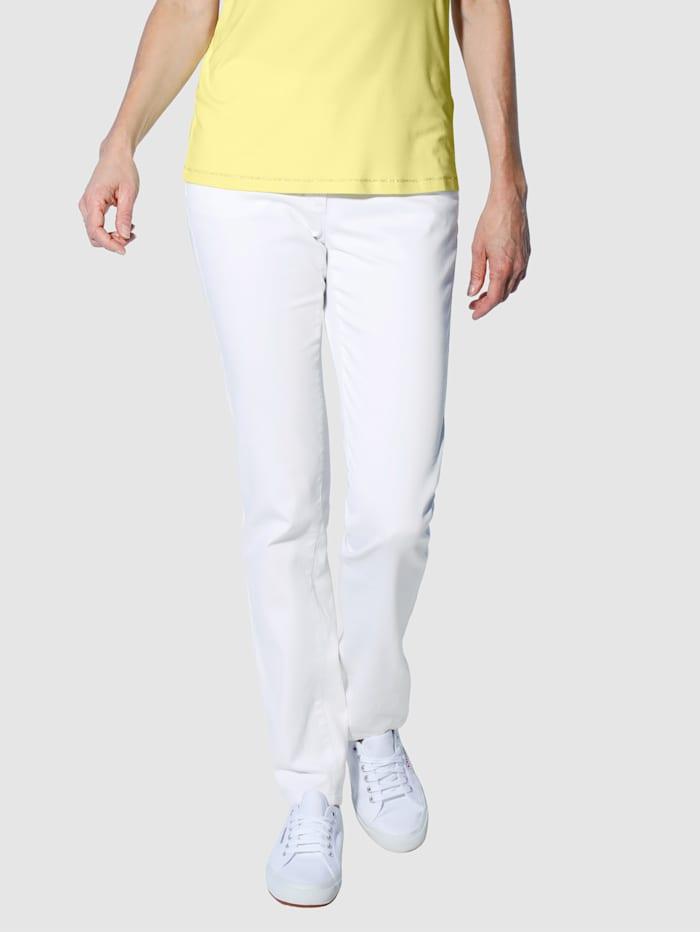 Dress In Kapeat housut, Valkoinen