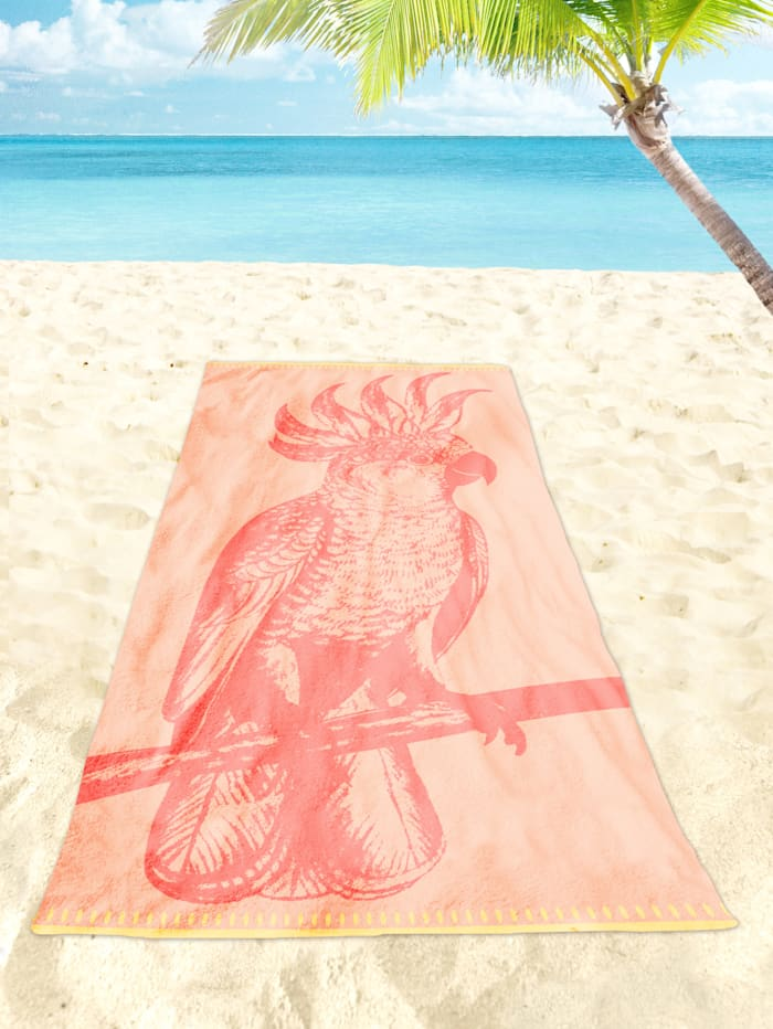Strandtuch Velour 'Paradise Bird'