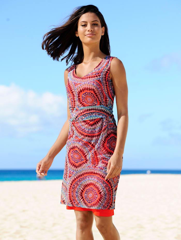 Strandkleid in doppellagiger Verarbeitung