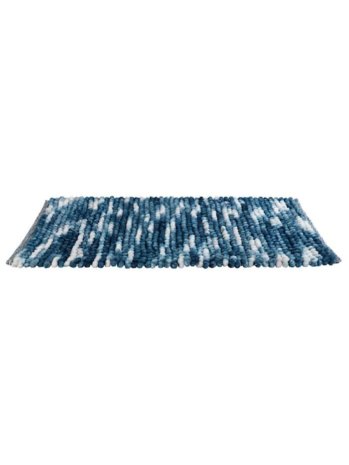 Badteppich Urdu Blau, 60 x 90 cm