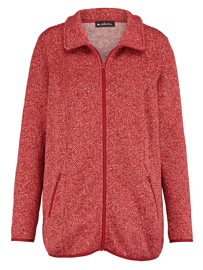 Fleece vest met zachte binnenkant