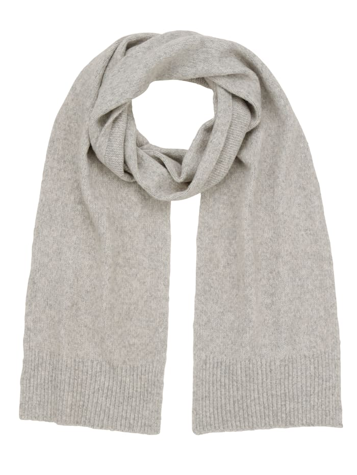 Paola Sjaal in gemêleerde look, grijs
