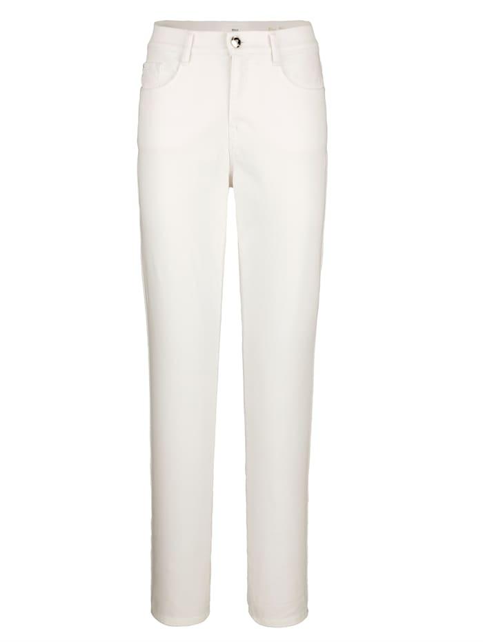 BRAX Jeans 'Carola' in klassischer Form, Weiß