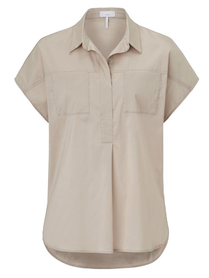 CINQUE Blusenshirt, Creme-Weiß