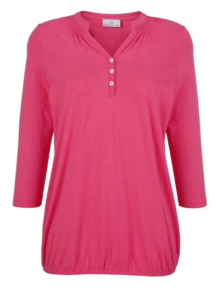 Tričko s ozdobným šitím