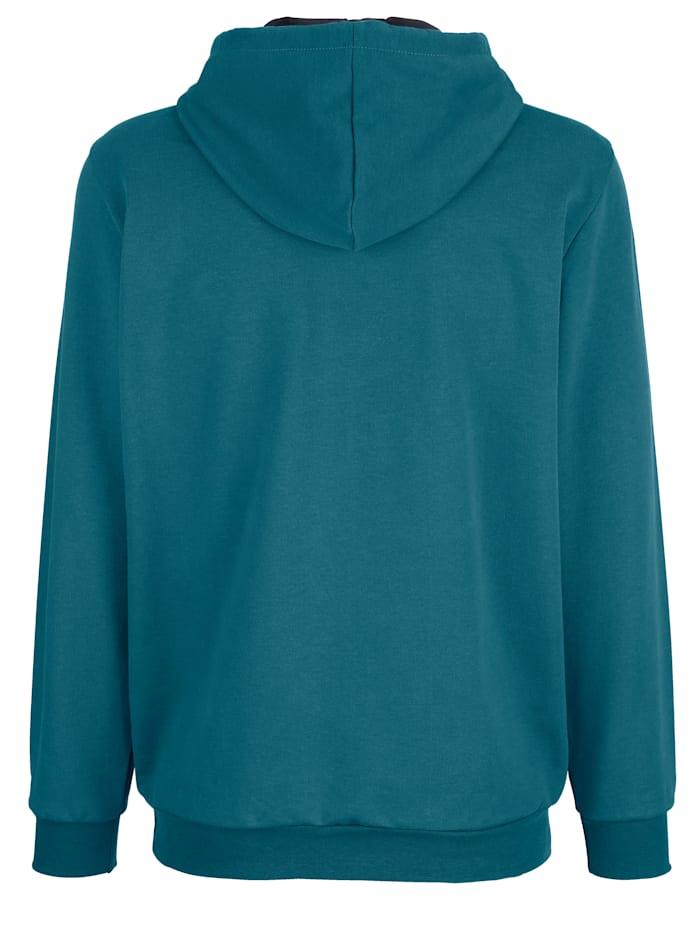 Sweatshirt mit Druck im Vorderteil