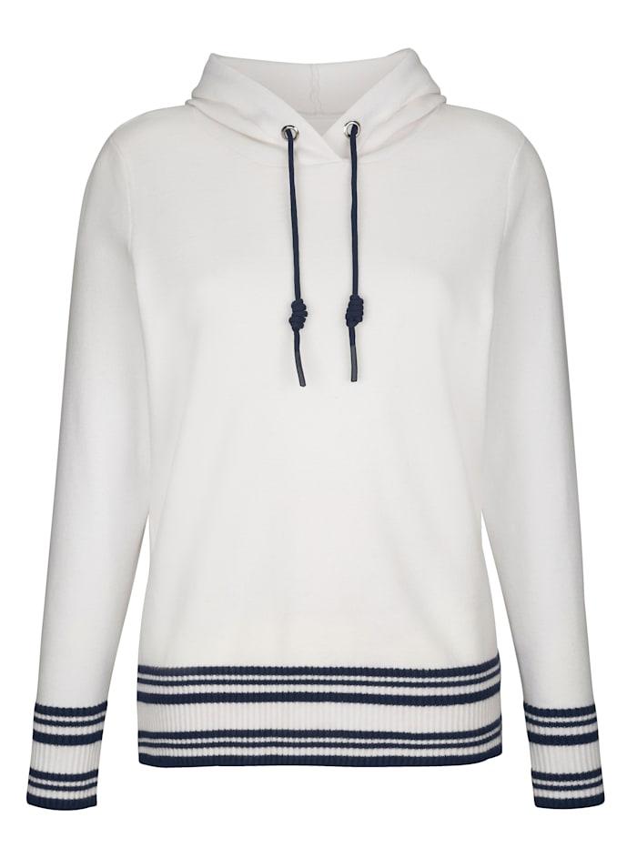 Pullover mit Kapuze und Bindeband