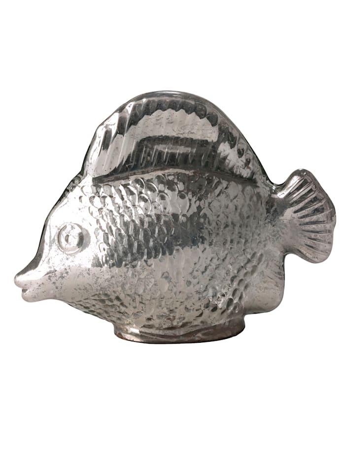 IMPRESSIONEN living Deko-Objekt, Fisch, silberfarben