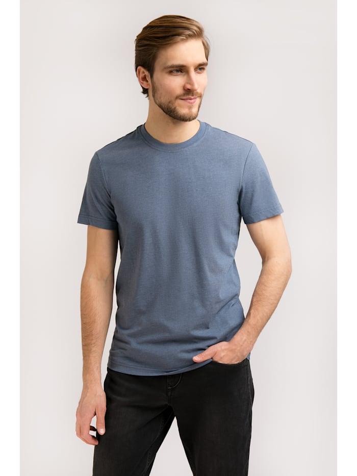 Finn Flare Basic-Shirt in melierter Optik, rapid MG