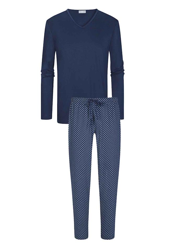 Mey Pyjama lang Made in Europe, neptune