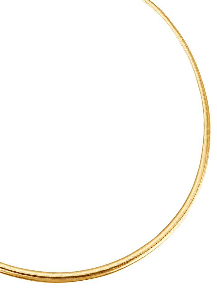 Omega-Collier in Gold 585, Gelb