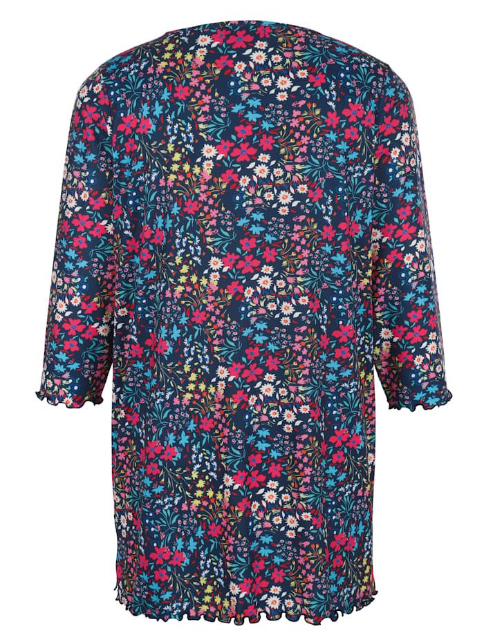 Longshirt in floralem Druckdesign